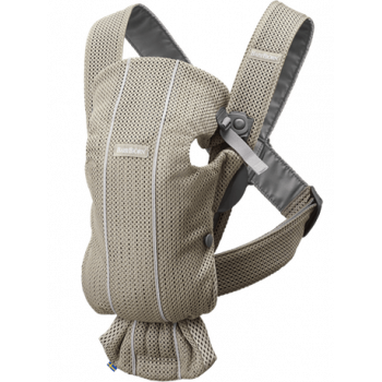 Baby carrier mini 3D mesh Grigio