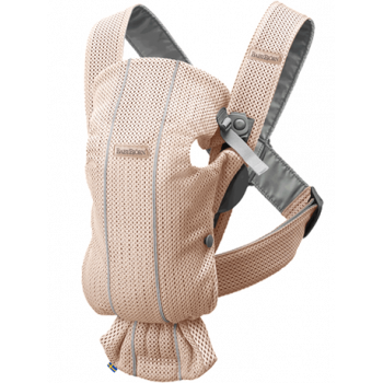 Baby carrier mini 3D mesh Rosa