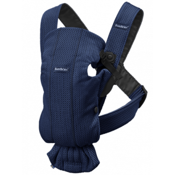 Baby carrier mini 3D mesh Blu