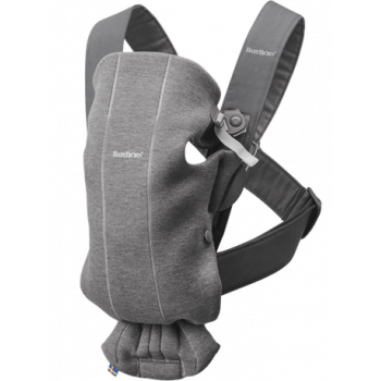 Baby carrier mini 3D jersey Grey