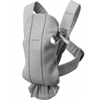 Baby carrier mini 3D jersey Light Grey