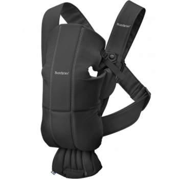 Baby carrier mini black cottonBlack